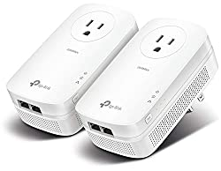Image of the product TP Link AV2000 Powerline that is listed on the catalogue brand of TP-Link. The product has been rated with a 4.6 over 5