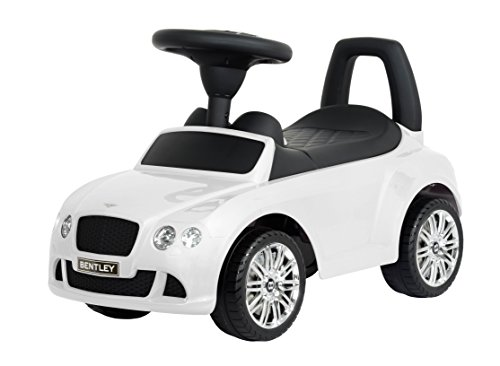 Bentley Continental GT Speed Ride-On, White