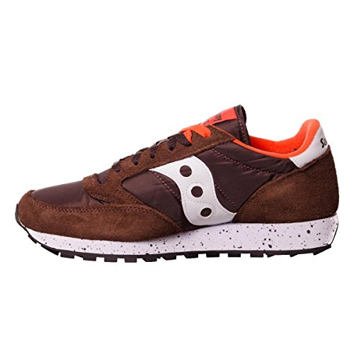 44 MainApps Saucony Brown Scarpe n 458 Orange F81 White Jazz'O nnUfqz7