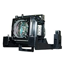 AuraBeam Economy Sanyo POA-LMP140 Projector Replacement Lamp with Housing
