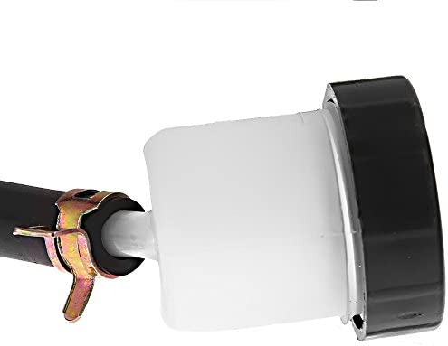 Saihisday Rear Brake Master Cylinder Assembly For Kawasaki KX125 KX250 90-02 KLX250 D-Tracker 98-07