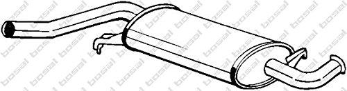 Bosal 105-971 Mittelschalld/ämpfer