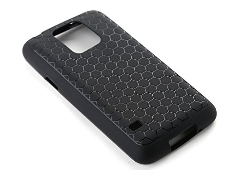 ZOGIN Funda TPU para Samsung Galaxy S5 con Batería Extendida, Color Negro Negro