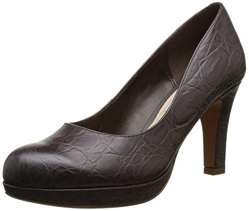Clarks Crisp Kendra Damen Pumps Beige (Taupe Leather)