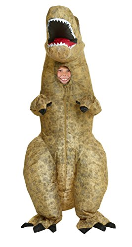 Inflatable Dinosaur Costumes Video - Morphsuits Giant T-Rex Inflatable Kids Costume,