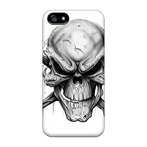 Hot Tpye Skull Case Cover For Iphone 5/5s