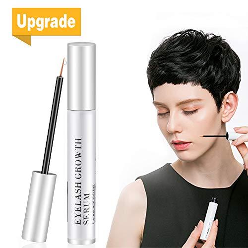 Eyelash Growth Serum, Natural Eyebrow Enhancer, Brow & Lash Enhancing Formula for Longer, Thicker Eyelashes and Eyebrows (5ML)