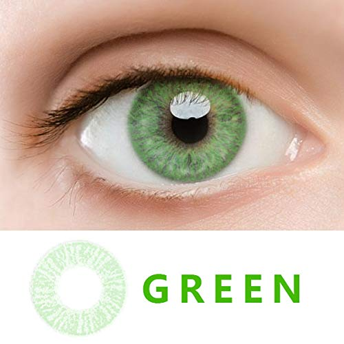 WQFXYZ Women Multi-Color Contact Lenses Cosplay Eyes Cute Charm and Attractive Fashion Eye Accessories Cosmetic Makeup Eye Shadow (30) ()