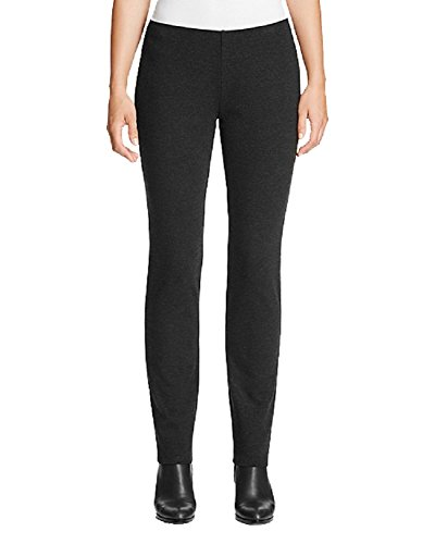 Eileen Fisher Slim Knit Pants (Dark Gray, XXS) (Eileen Fisher Slim Pants)