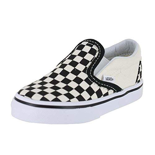 Vans Toddler Classic Slip-On Black&White Checkerboard VN000EX8BWW Toddler Size 3]()