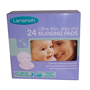 Lansinoh 24 Disposable Nursing Pads
