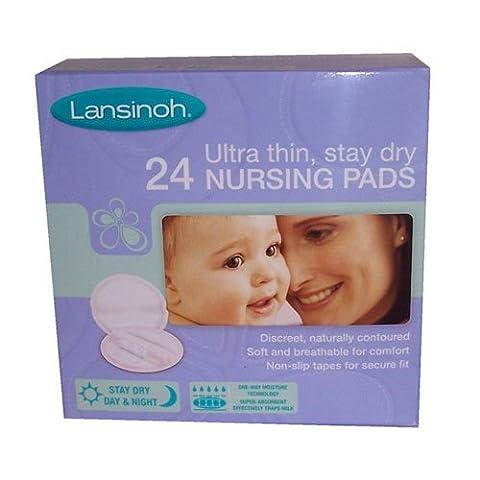 Lansinoh Disposable Nursing Pads 24 Pack - Lansinoh Disposable Breast Pads