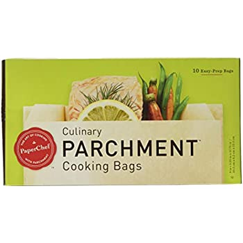 PaperChef 05003 PC5003 ((2 Pack) Parchment Paper Nonstick Cooking Bags, 10-ct/Box, 1483, Tan