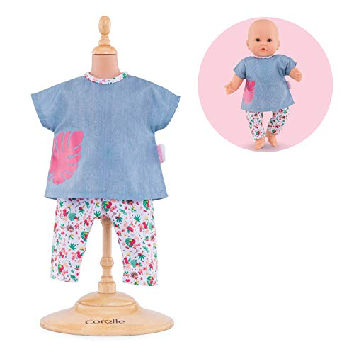 Corolle - Mon Grand Poupon Outfits Set - Tropicorolle for 14'' Baby Dolls