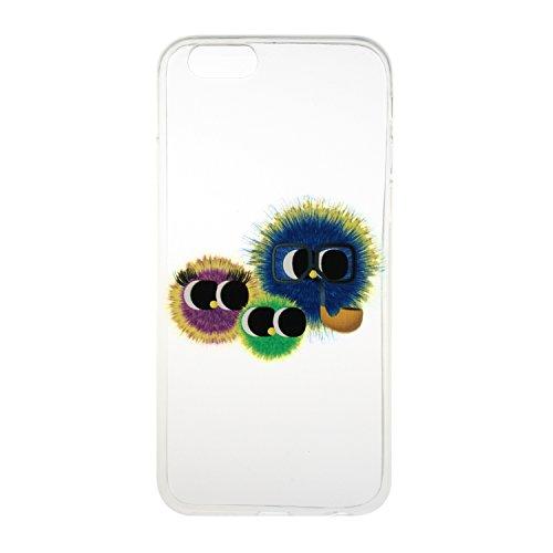 Voguecase® für Apple iPhone 6 Plus/6S Plus 5.5 hülle, Schutzhülle / Case / Cover / Hülle / TPU Gel Skin (Monster) + Gratis Universal Eingabestift
