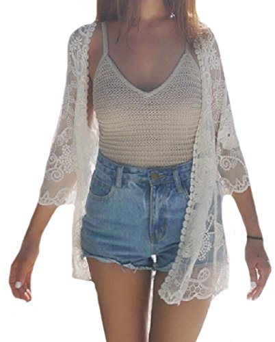 Beautiful Crochet Transparent Cardigan Jacket