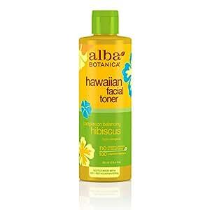 Amazon.com: Alba Botanica, facial Toner, Hibiscus, 8.5 fl oz ...