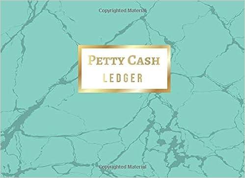 amazon com petty cash ledger cash payment record tracker log book
