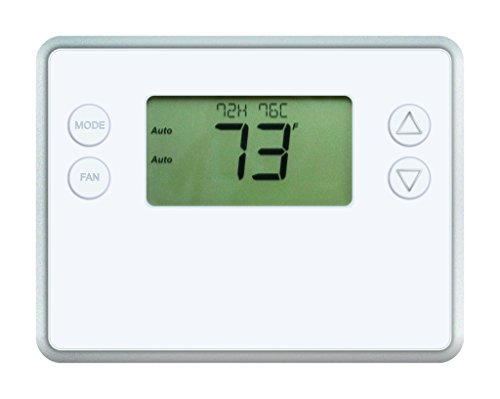 GoControl Thermostat, Z-Wave, Battery-Powered, Works with Am