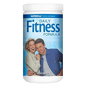 Nutrina Daily Fitness Formula, Multivitamin and Mineral Dietary Supplement Pack, 30 Packets