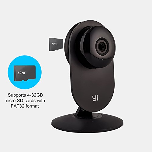 YI Home Camera, Wireless IP Video Suveillance System with Night Vision for  Indoor Security, Nursery, Pet Monitor, Remote Control with iOS, Android App