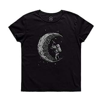 ART T-SHIRT-Working Astronaut Erkek Tişört-Siyah-S