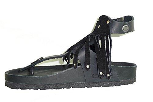 Birkenstock - Sandalias de Piel para mujer negro