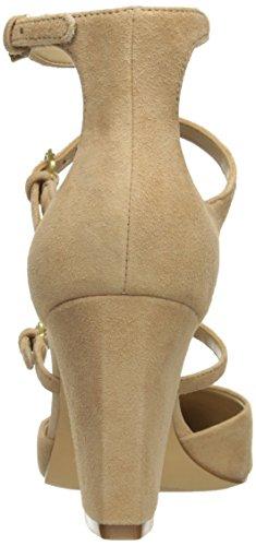 Mujer Punta para de Camel Tacón Tres con Jane para The Cooley Vestido Hebilla Fix Cerrada Mary qgzxwBB5E