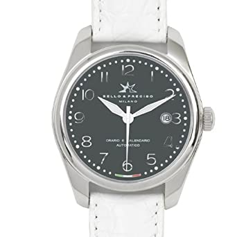 Bello & Preciso italienische Armbanduhr Modell 39 Grigio
