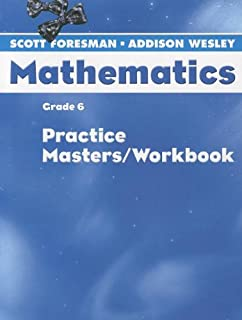 scott foresman mathematics grade 6 homework workbook