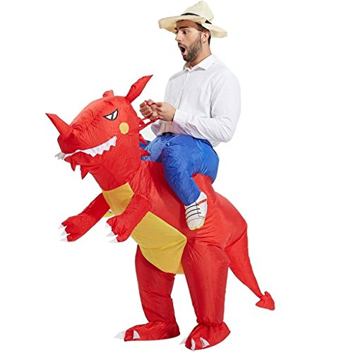 Inflatable Red Dinosaur Mascot Costume  sc 1 st  sztopfocus & Inflatable Costume