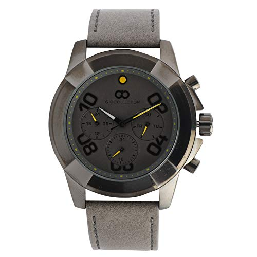 Gio Collection Multifunction Grey Dial Men #39;s Watch