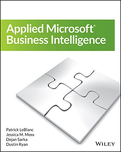 Download Applied Microsoft Business Intelligence Pdf