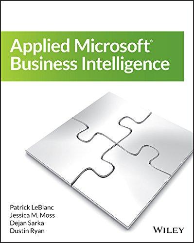 Applied Microsoft Business Intelligence Pdf