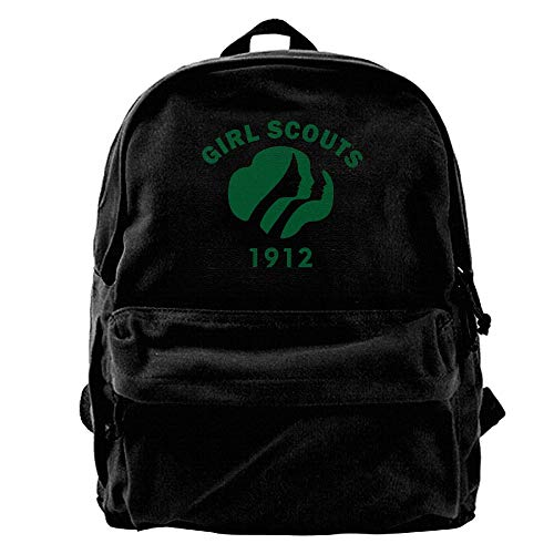 Girl Scouts 1912-01.png Casual Travel Lightweight Multifunctional Canvas Backpack One Size