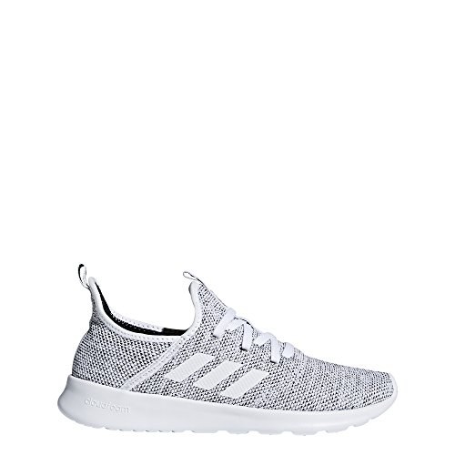 adidas Women's Cloudfoam Pure Running Shoe White/White/Black