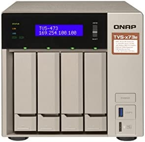 QNAP Business High End 4-Bay NAS TVS-473E-4G