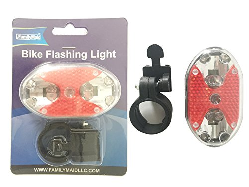 BIKE FLASHING LIGHT 9 LED , Case of 96