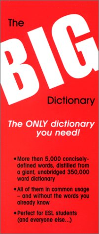 The Big Dictionary: The Only Dictionary You Need! ebook