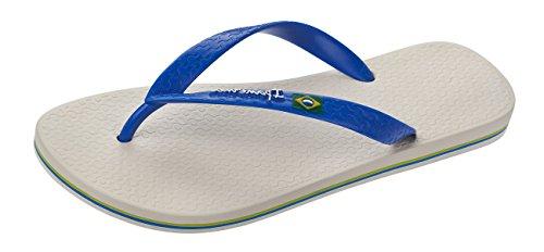 Ipanema Herren Classica Brasil Ii Hom Zehentrenner hellgrau - blau