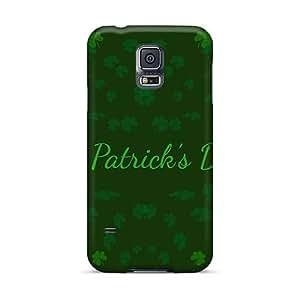 Samsung Galaxy S5 Xji5413HooB Support Personal Customs Fashion Green Day Skin Best Hard Phone Covers -AaronBlanchette