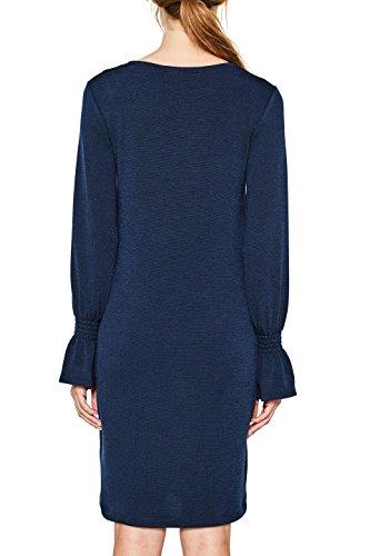 400 ESPRIT Damen Kleid Navy Blau f8qan81w