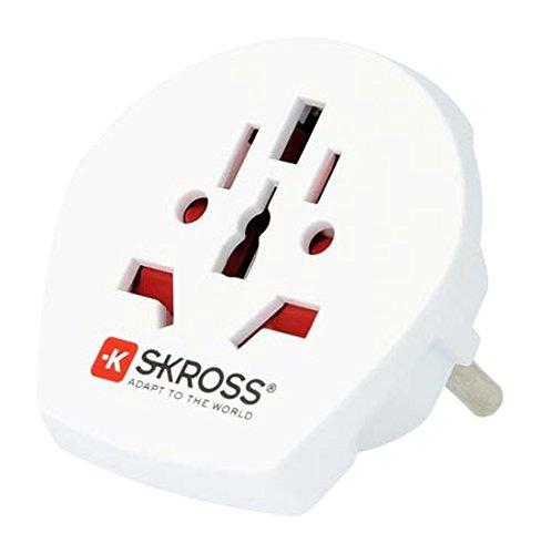 Skross - 1.500211 - Adaptateur de voyage universel World to Europe