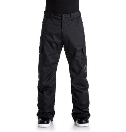 DC DCSAA Men's Banshee 10k Water Proof Snowboard Pants, Black, X-Large