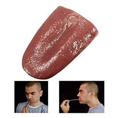 Realistic Tongue Gross Jokes Prank Magic Tricks Halloween Horrific Prop by Abcstore99: Arts, Crafts & Sewing