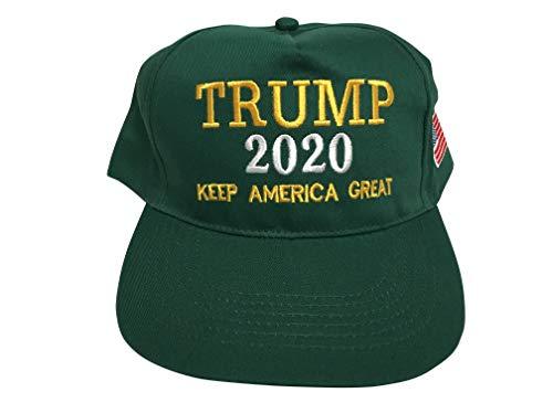 ded183947 TrendyLuz Make America Great Again Donald Trump MAGA Baseball Cap Hat  (Green Trump 2020 Keep