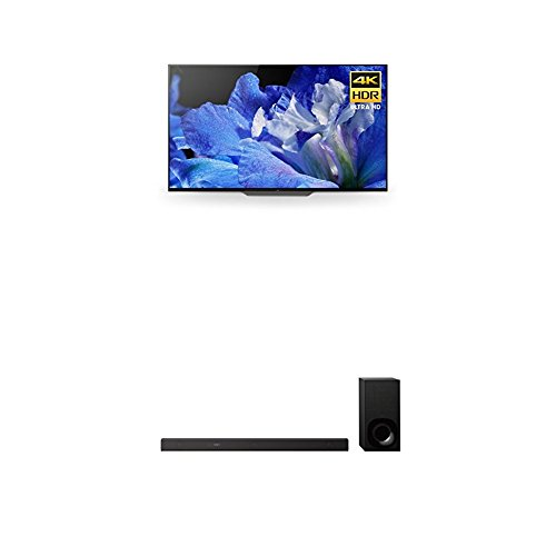 Sony XBR65A8F 65-Inch 4K Ultra HD Smart BRAVIA OLED TV and Z9F 3.1ch Soundbar with Dolby Atmos and Wireless Subwoofer