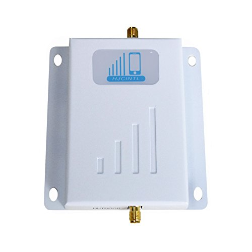 HJCINTL 700Mhz Band 12/17 4G LTE AT&T Cell Phone Signal Booster Main Repeater Indoor for home and office - White by HJCINTL