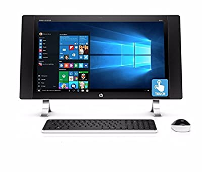 "2017 HP ENVY 27 Touchscreen All-In-One Desktop, 27"" Touch IPS FHD 1920 x 1080 Display, Intel Quad-Core i5-6400T 2.2GHz, 12GB RAM, 1TB HDD, WiFi, Bluetooth, Windows 10 (Certified Refurbished)"