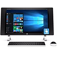 2017 HP ENVY 27 Touchscreen All-In-One Desktop, 27 Touch IPS FHD 1920 x 1080 Display, Intel Quad-Core i5-6400T 2.2GHz, 12GB RAM, 1TB HDD, WiFi, Bluetooth, Windows 10 (Certified Refurbished)